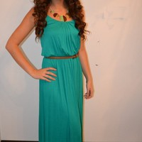 Piace Boutique - I Teal For You Maxi in Dresses