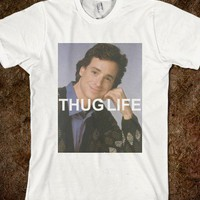 Bog Saget Thug Life T-shirt - Alex&#x27;s Shop