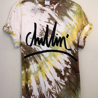 southern structure clothing — Chillin' t'shirt