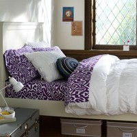 Ruched Duvet Cover &amp;amp; Sham