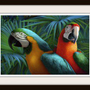 Jungle Parrots Cross Stitch Pattern | Los Angeles Needlework