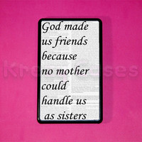 Kindle Fire Case -Best Friend Quote print kindle fire case- Amazon Kindle fire HD case