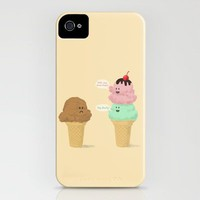 Double Scoop Bullies  iPhone Case by Terry Fan | Society6