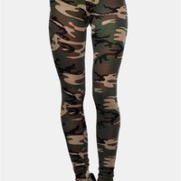 I Want You Legging - Army Green
