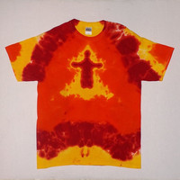 Burning Man Tie Dye Shirt - Any Size &amp; Style Available