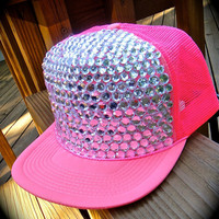 PREttY iN PiNk trucker hat-- get your own customized one! Sugar & Speisz