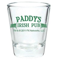 Always Sunny in Philadelphia Paddy's Pub Shot Glass - Ripple Junction - Its Always Sunny in Philadelphia - Barware at Entertainment Earth