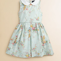 Ralph Lauren - Toddler's & Little Girl's Floral Pincord Dress