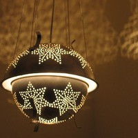 EcoVolveNow Sputnik 1 star colander lantern