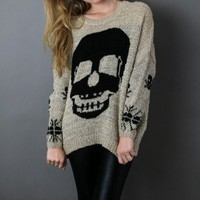 Winter Skull Sweater - american threads