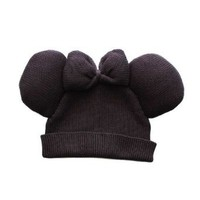 Amazon.com: Trumpette Minnie Hat - Black: Clothing