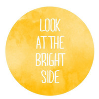Bright side Print by vaporqualquer on Etsy