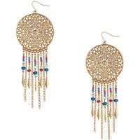 Fringed Filigree Earrings | FOREVER21 - 1000036869