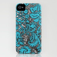 Vintage Wallpaper No.2 iPhone Case by Romi Vega | Society6