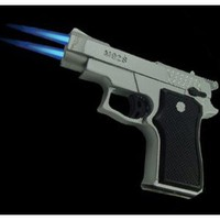 Amazon.com: Twin Laser Flame Gun Torch Lighter #15: Everything Else