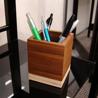 Modern Minimalist Style Pencil Cup from by andrewsreclaimed