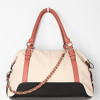 Kimchi Blue Spectator Colorblock Satchel