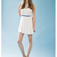 FINDERS KEEPERS edge of glory dress IVORY/FLESH #13