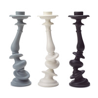 Areaware Distortion Candlestick - in your choice of color