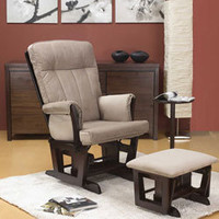Oeko Jacob Locking Glider Rocker with Ottoman and Side Table - 17132-75-b03