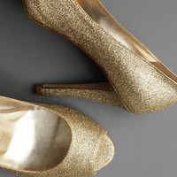 Moonlit Peep-Toes in  SHOP Shoes  Accessories Shoes at BHLDN