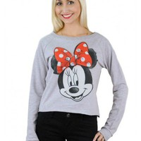 Jerry Leigh Disney Minnie Mouse Sweatshirt