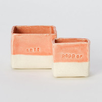 Ceramic Salt &amp; Pepper Set