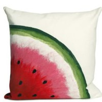 One Kings Lane - Liora Mann - S/2 Watermelon Red Pillows