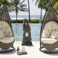 Hanging Wicker Chair - Opulentitems.com