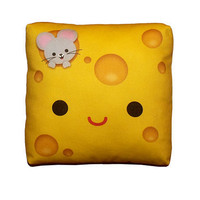 Mini Pillow Yummy Cheese by mymimi on Etsy