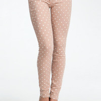 Mini Dot Icon Skinny Jean