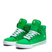 SUPRA VAIDER Shoe | GREEN - WHITE | Official SUPRA Footwear Site