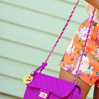 Chain Of Colors Crossbody: Orchid | Hope's