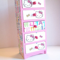 Hello Kitty Jewelry Box by StrictlyCute on Etsy