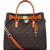MICHAEL Michael Kors  Hamilton Large Logo Tote  - Michael Kors