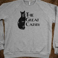 The Great Catsby (sweatshirt) - How Topical