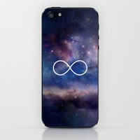 Infinity Symbol Stars Galaxy Space iPhone &amp; iPod Skin by RexLambo | Society6