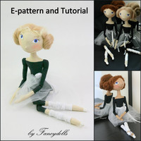 Cloth Doll Sewing Pattern & Tutorial Little by FancyDolls on Etsy