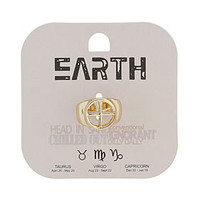 Earth Symbol Ring