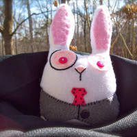 Bunny Plush Handmade by MadShinyShoppe on Etsy
