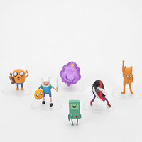Urban Outfitters - Adventure Time Deluxe Vinyl Action Figure - Set Of 6