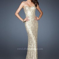 La Femme 18917 at Prom Dress Shop