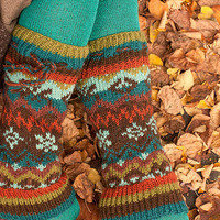 Socks  Socks  Nordic Wool Leg Warmers  Sock Dreams