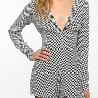 Motel Judy Long-Sleeved Romper