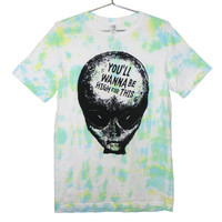 420 friendly Alien Head Tie Dye (ATTN: notate SIZE during checkout)