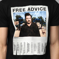 Ron Swanson Free Advice Tee