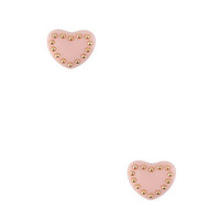 Beaded Heart Studs | FOREVER21 - 1000017301