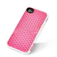 Vans Waffle Sole Back Case Cover For Apple iPhone 4 4G 4S Pink VP