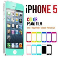 Amazon.com: Mercury Color Screen Protector for Apple iPhone 5 (Turquoise / Mint): Cell Phones &amp; Accessories