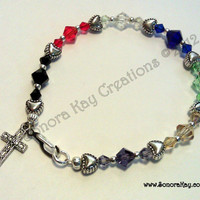 Christian Salvation Story Bracelet Made to Order 4 styles to choose from